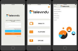 Various Screens for iOS App